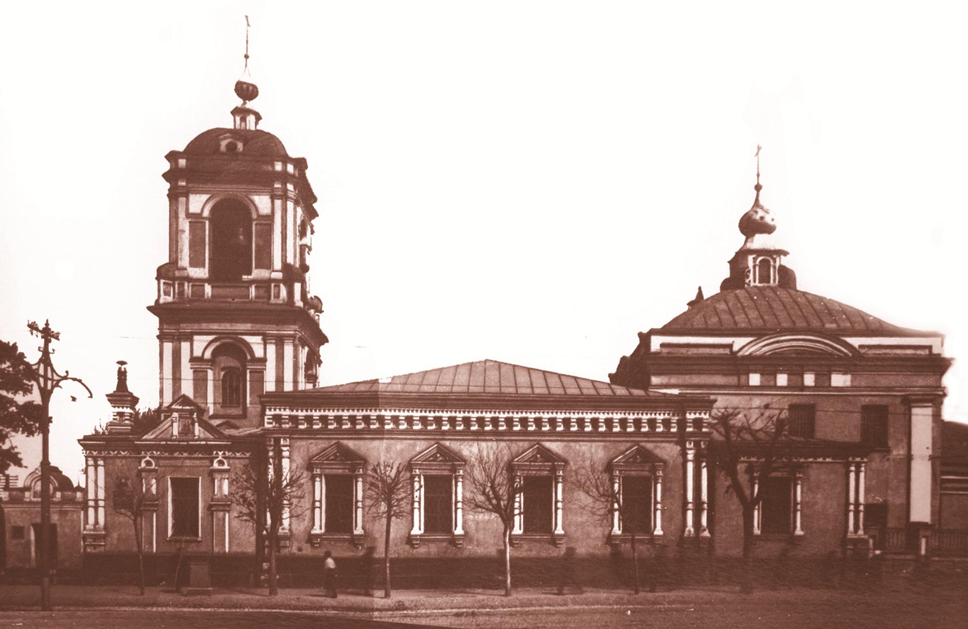 Возвращение Преображенского храма