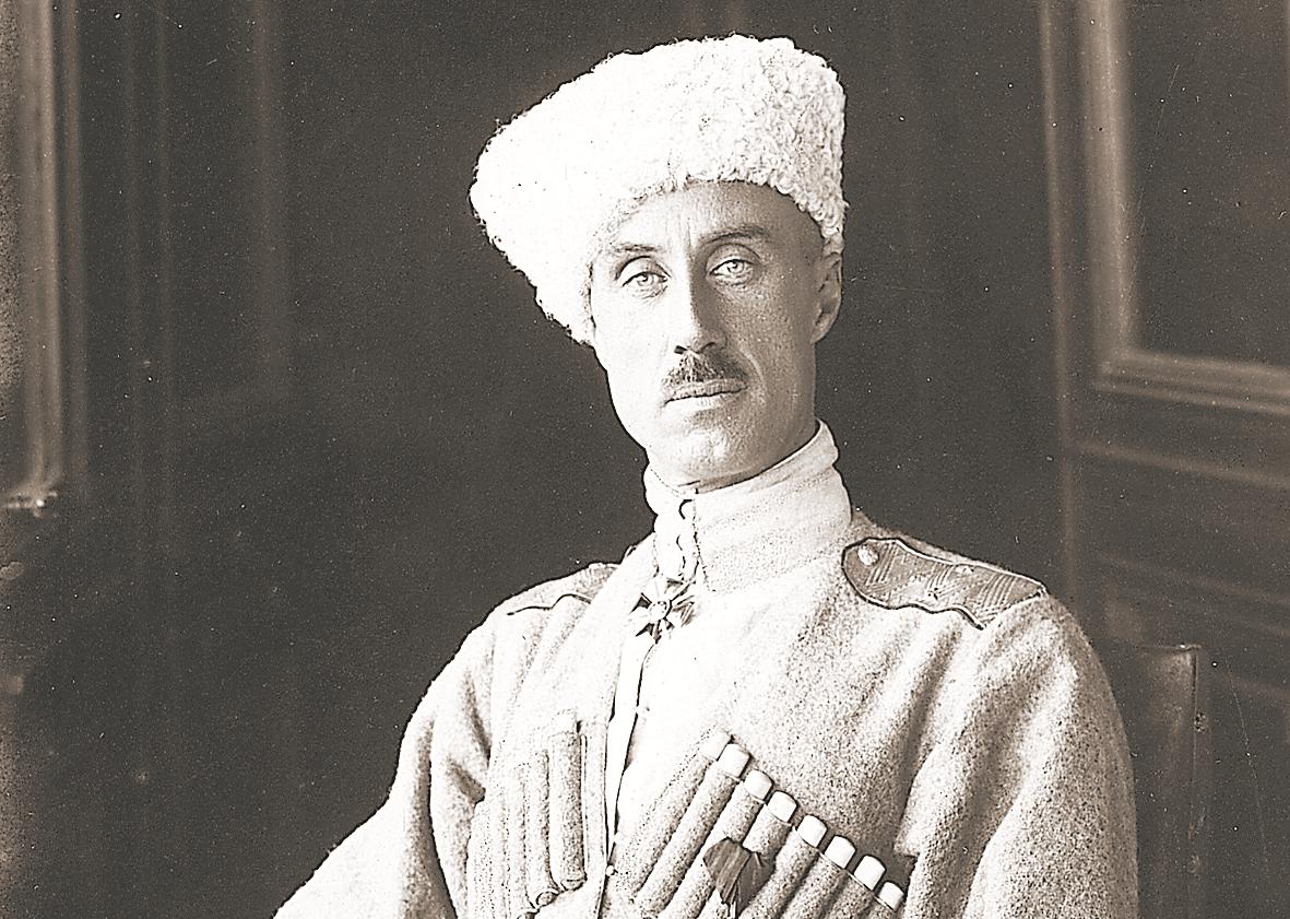 Георгиевский крест генерала П. Н. Врангеля