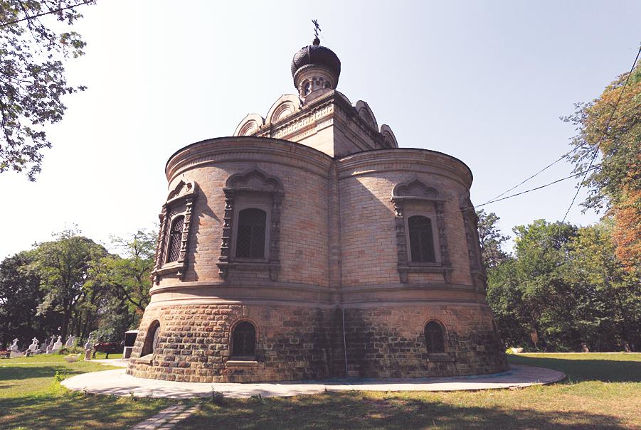 Русский храм в Румынии