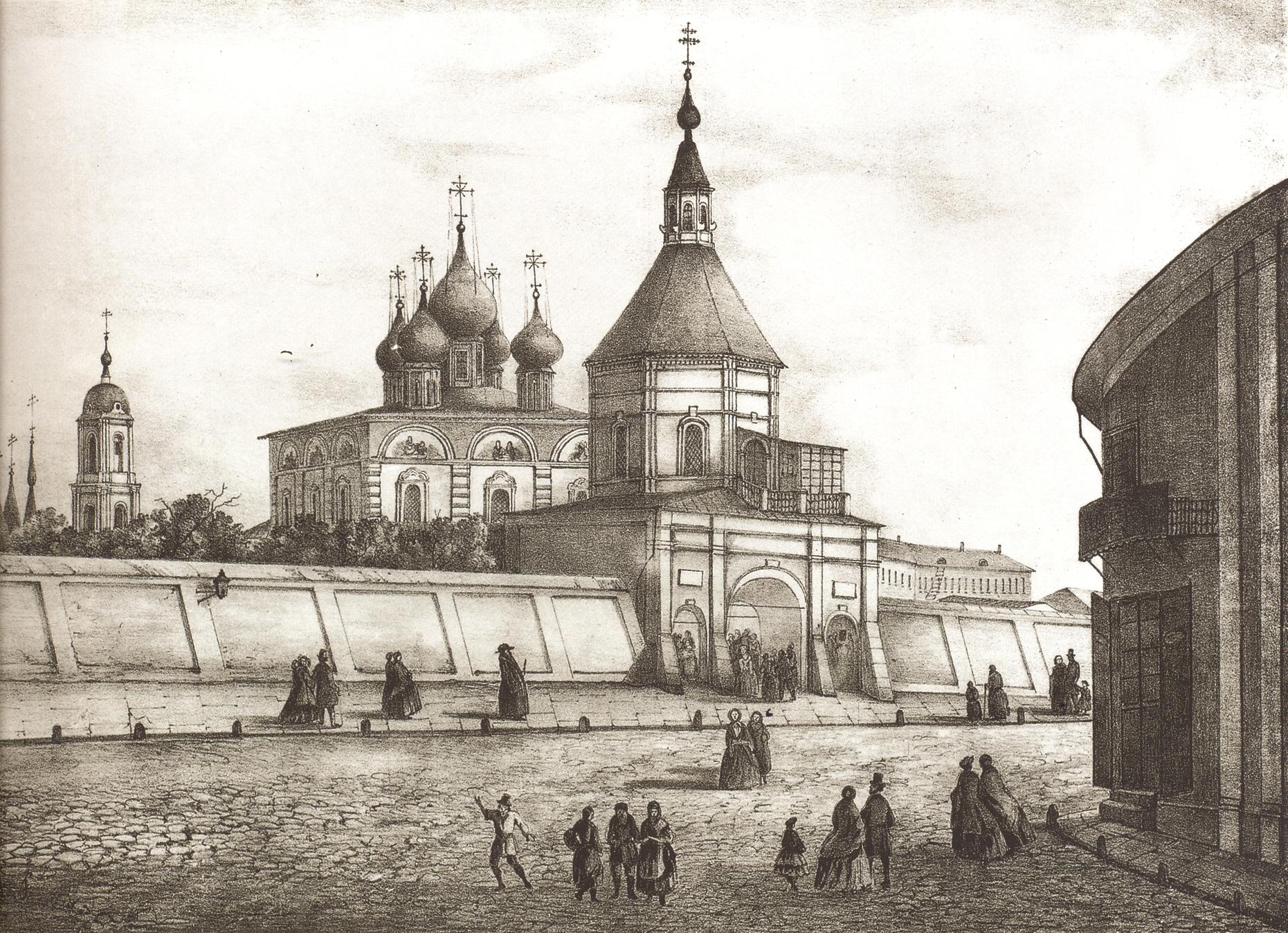О московском Златоустинском (Златоустовском) монастыре