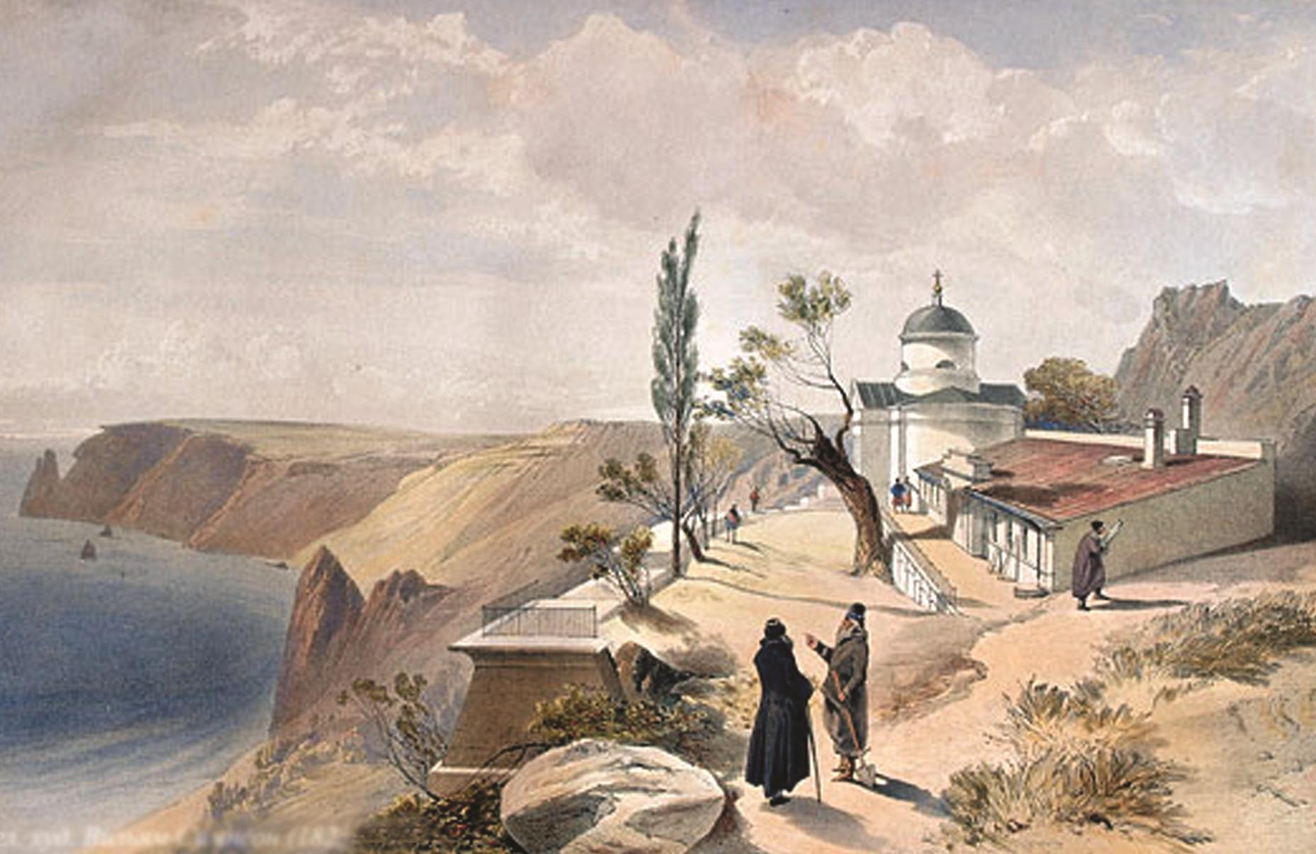 «Монастырские» каникулы В. В. Верещагина