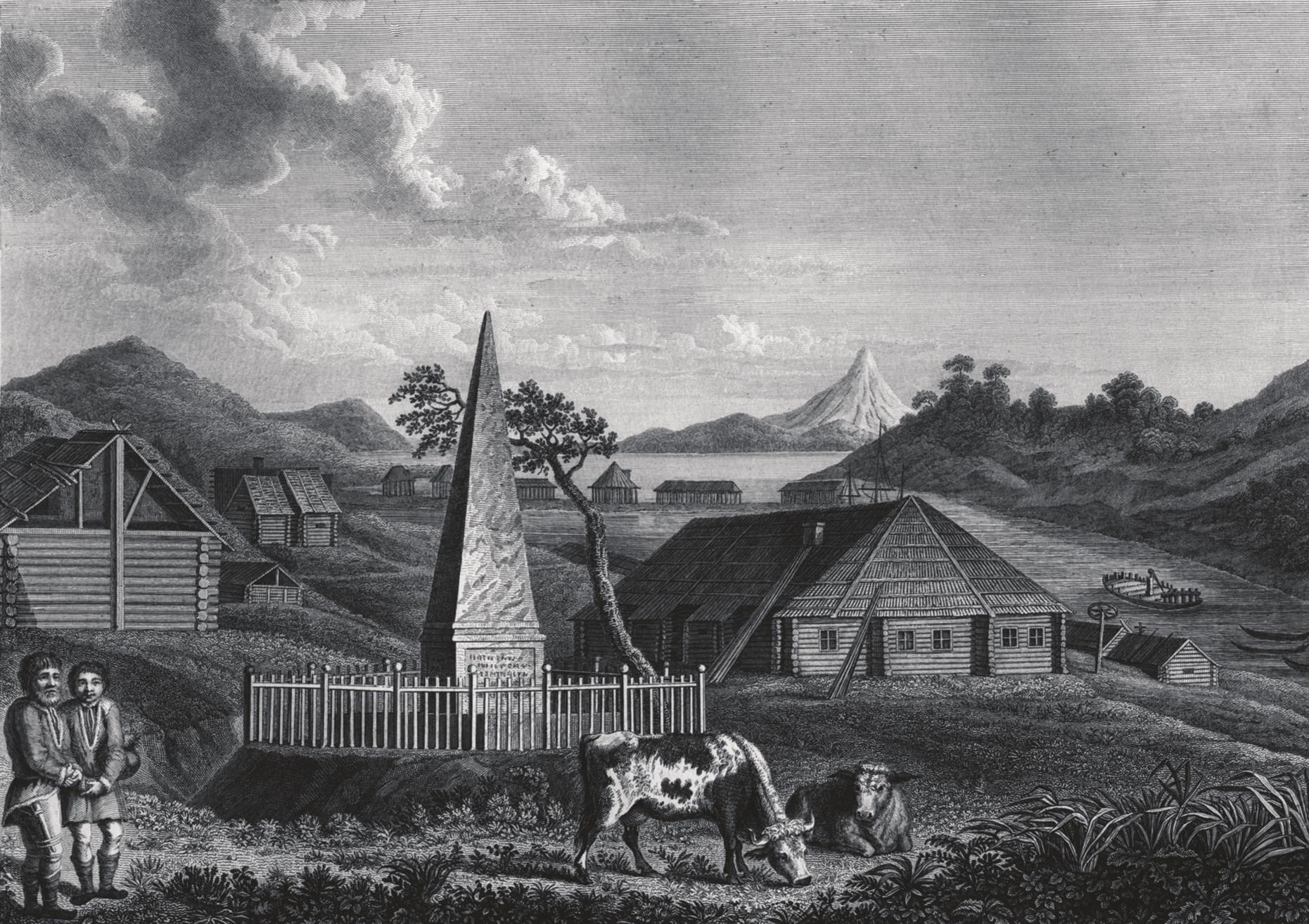 Экспедиция Джеймса Кука на Камчатке