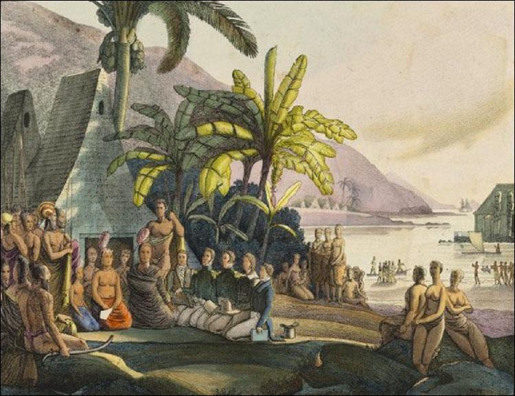 «Вдруг увидели перед собой остров…»