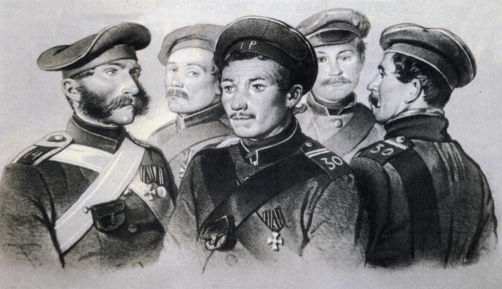 Ополченцы в Крыму
