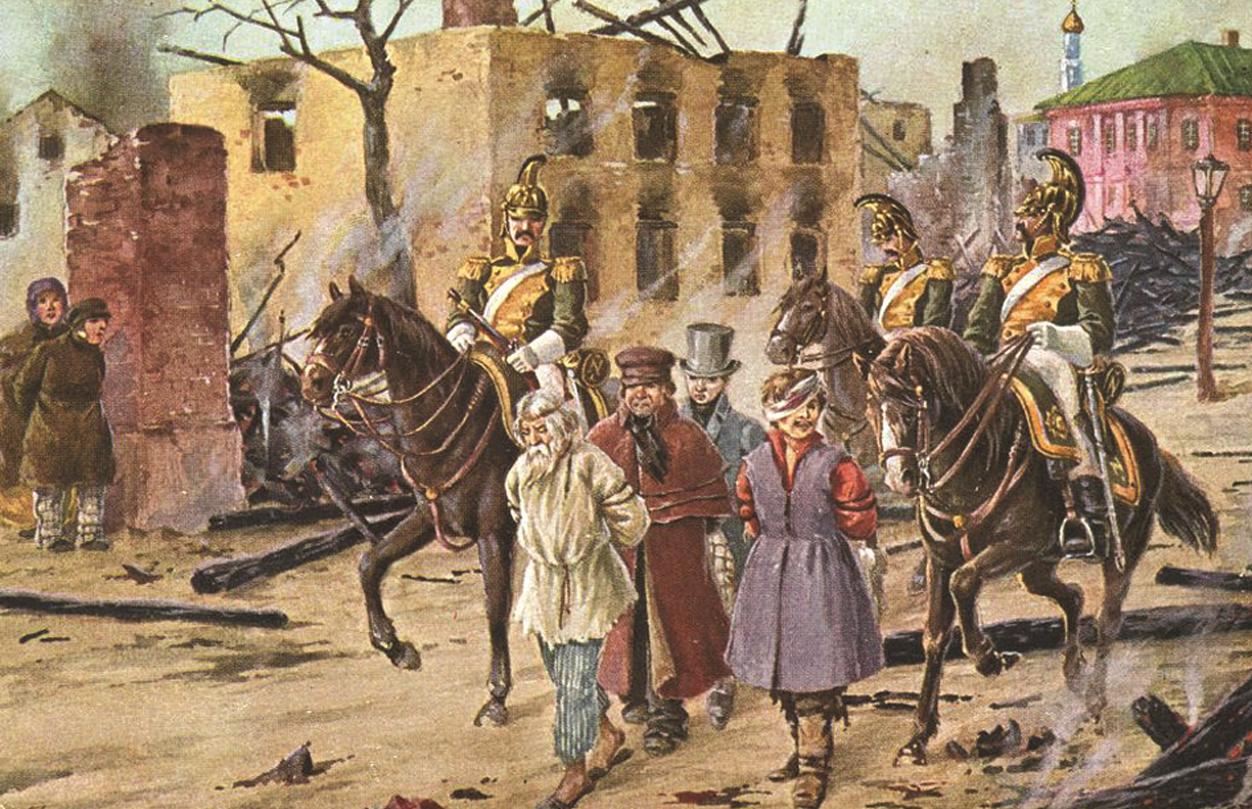 Московский главнокомандующий Федор Васильевич Ростопчин