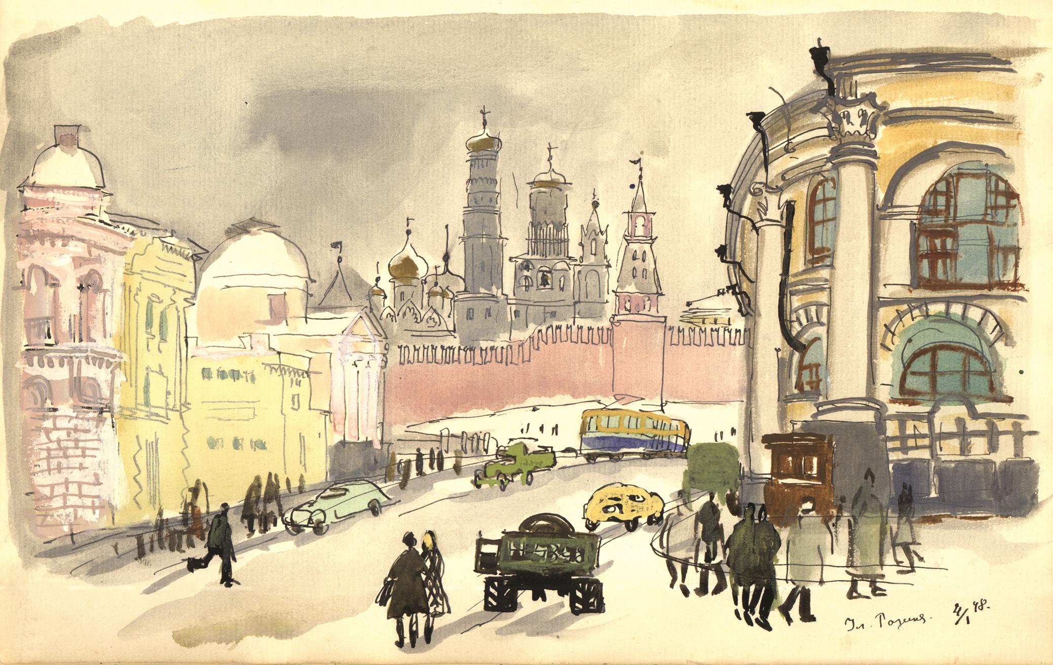 Сквозь века по Москве