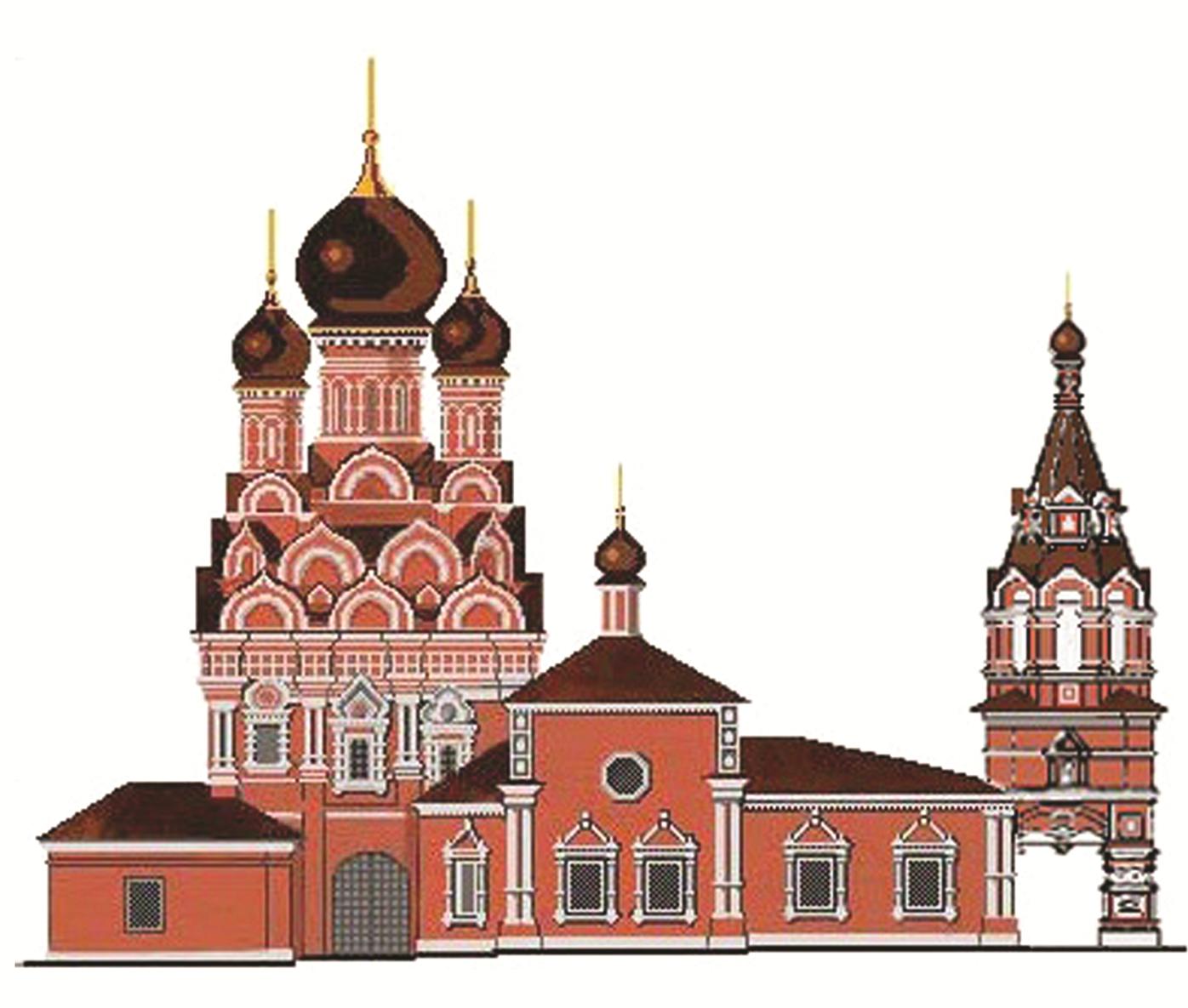 Храм Великомученика Георгия Победоносца в Ендове