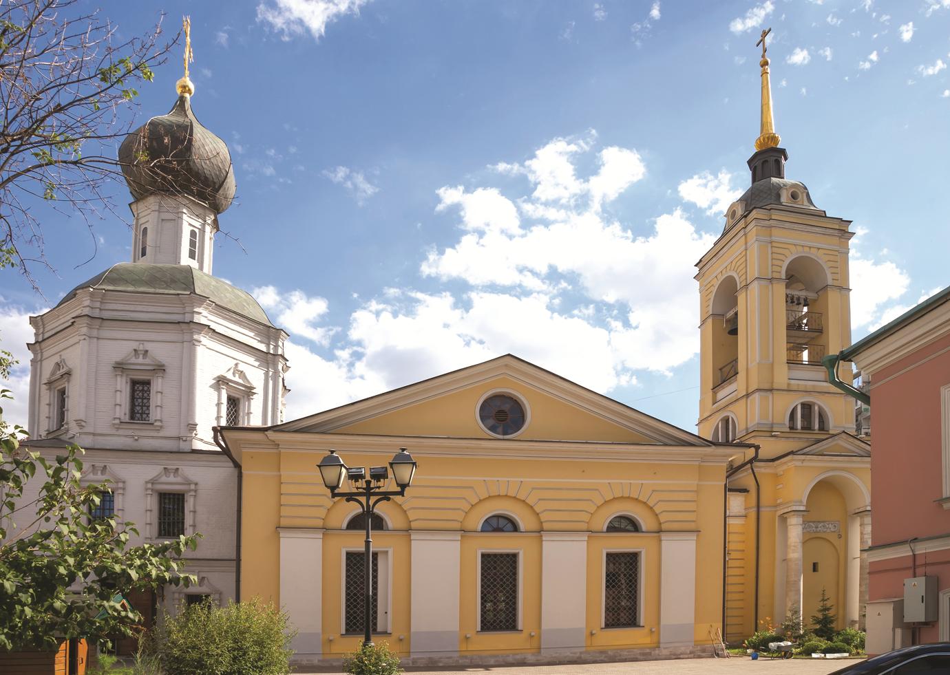 Старинный храм Замоскворечья