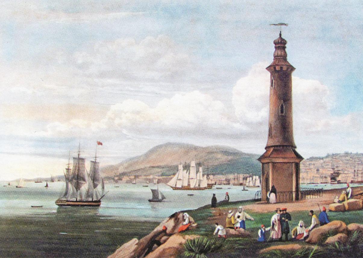 Москва 1835 года глазами американца